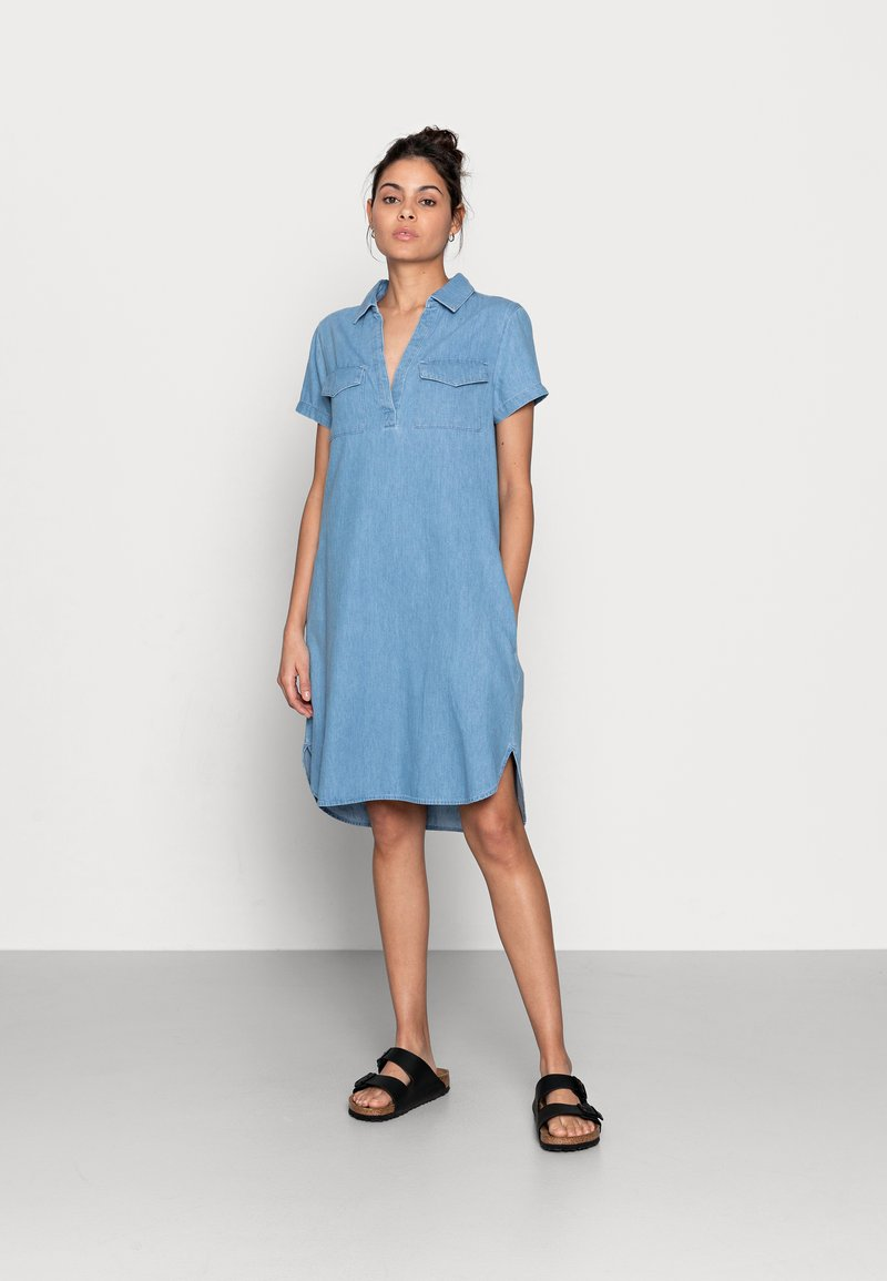 Zign - Denim dress - light blue