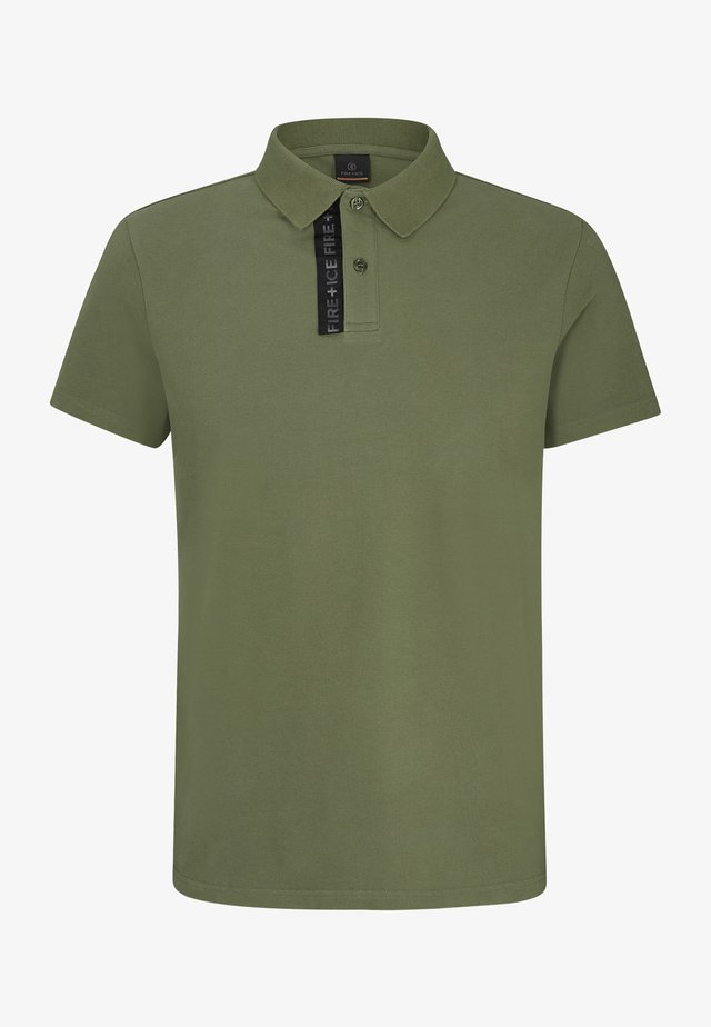 RAMON - Polo - olive green