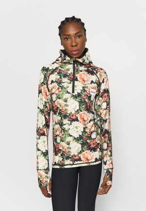 ICECOLD ZIP HOOD - Long sleeved top - multi-coloured