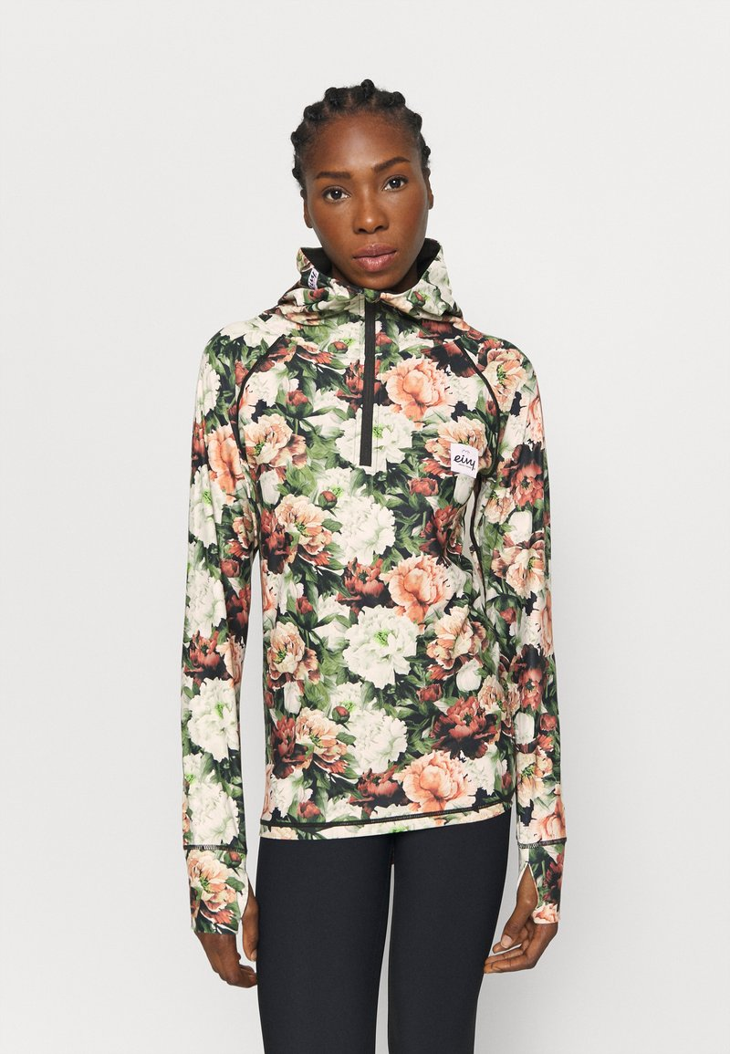 Eivy - ICECOLD ZIP HOOD - Long sleeved top - multi-coloured