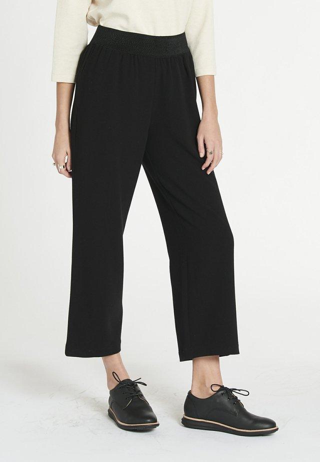 FLOW - Pantaloni - black