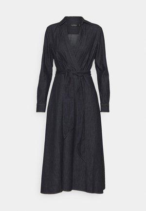 ROWELLA LONG SLEEVE DAY DRESS - Spijkerjurk - dark rinse