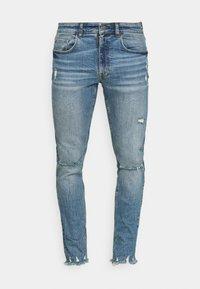 Redefined Rebel - STOCKHOLM DESTROY - Jeans Skinny Fit - speed blue - 4