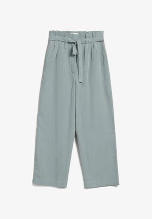 TIMEAA - Trousers - eucalyptus green