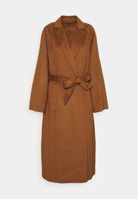 Trussardi - COAT PANNO APRIBILE - Classic coat - thrush - 4