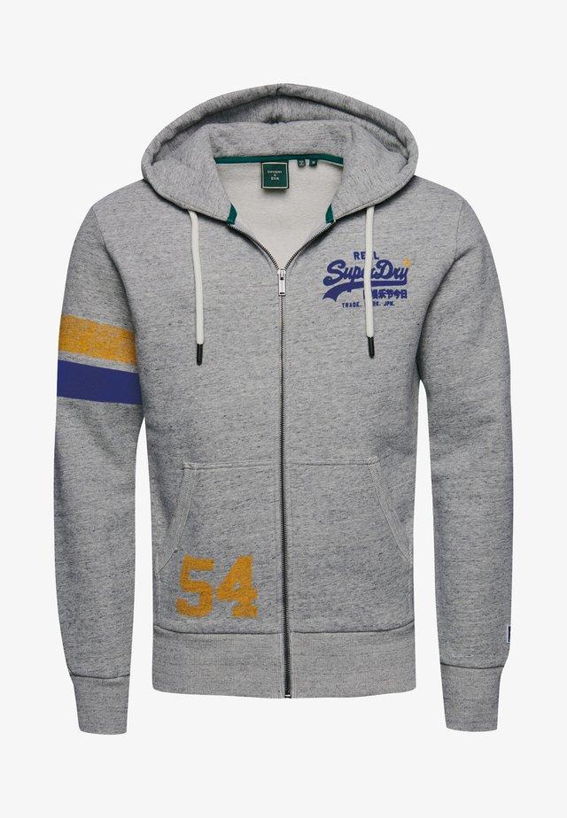 veste en sweat zippée - collective dark grey grit