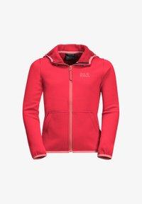 Jack Wolfskin - KIEWA  - Fleece jacket - tulip red - 0