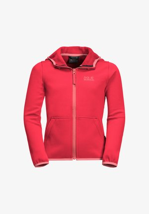 KIEWA  - Fleece jacket - tulip red