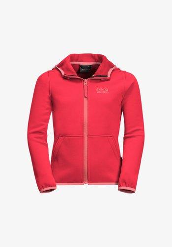 KIEWA  - Fleece jacket - tulip red