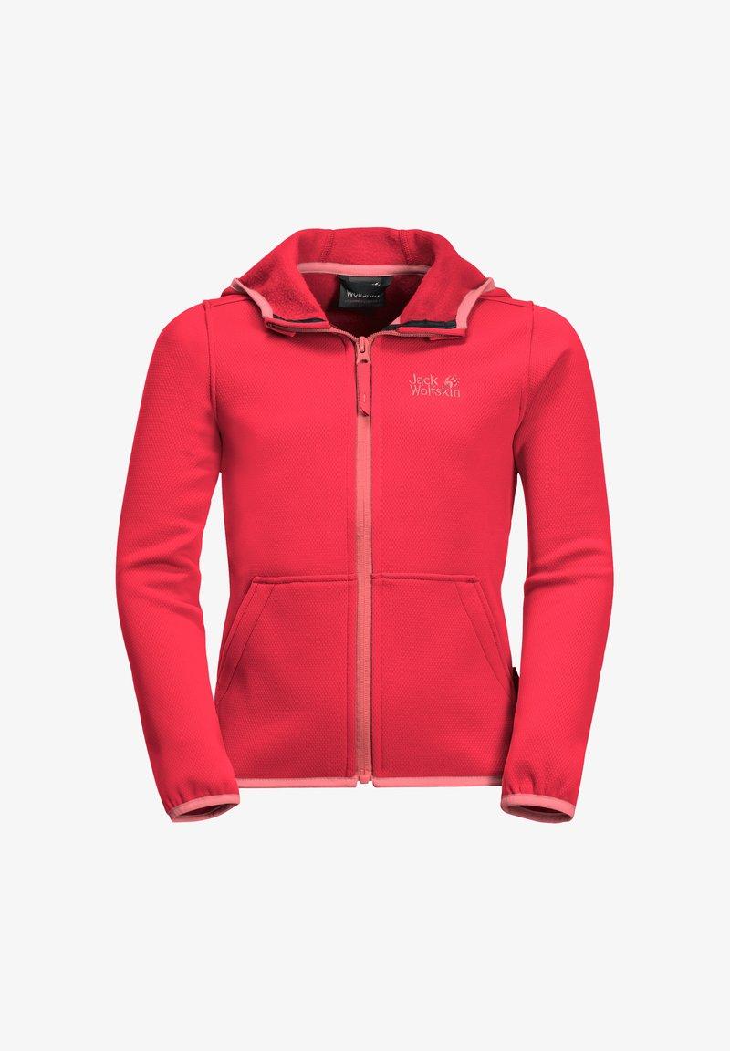 Jack Wolfskin - KIEWA  - Fleece jacket - tulip red