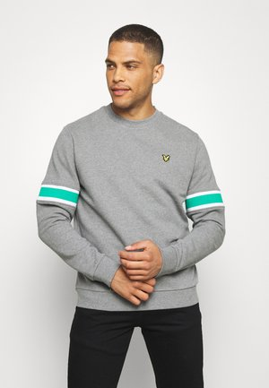 SLEEVE RIB INSERT  - Sweater - grey