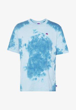 ROCK - T-shirt imprimé - copen blue