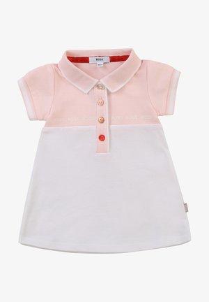 Robe d'été - rose blanc