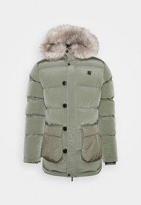 SIKSILK - STOP PUFF - Winter coat - khaki - 3