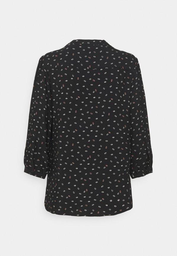 s.Oliver 3/4 ARM - Koszula - black/czarny COIY