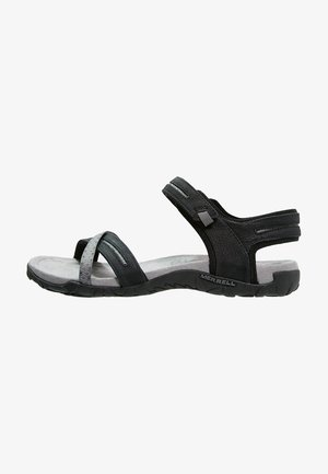 TERRAN CROSS II - Walking sandals - black