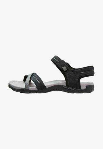 TERRAN CROSS II - Chodecké sandály - black