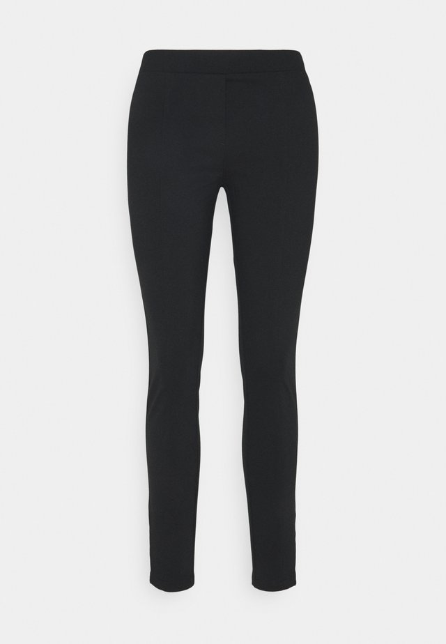 PANTS  ZIPS AT HEM  - Pantalon classique - pure black