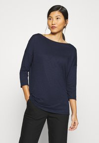 Sisley - Long sleeved top - dark blue - 0