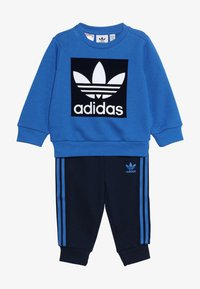 adidas Originals - CREW SET - Treningsdress - blue/collegiate navy/white - 4