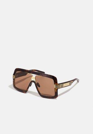 UNISEX - Gafas de sol - havana/brown