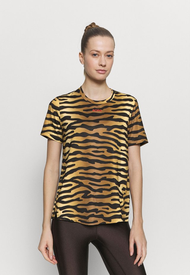 CATO TEE - T-shirt con stampa - brown