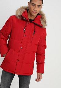 Alessandro Zavetti - OSHAWA - Winter jacket - red - 4