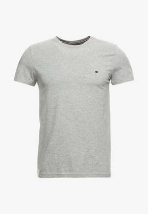 NEW STRETCH TEE C-NECK - Basic T-shirt - cloud heather