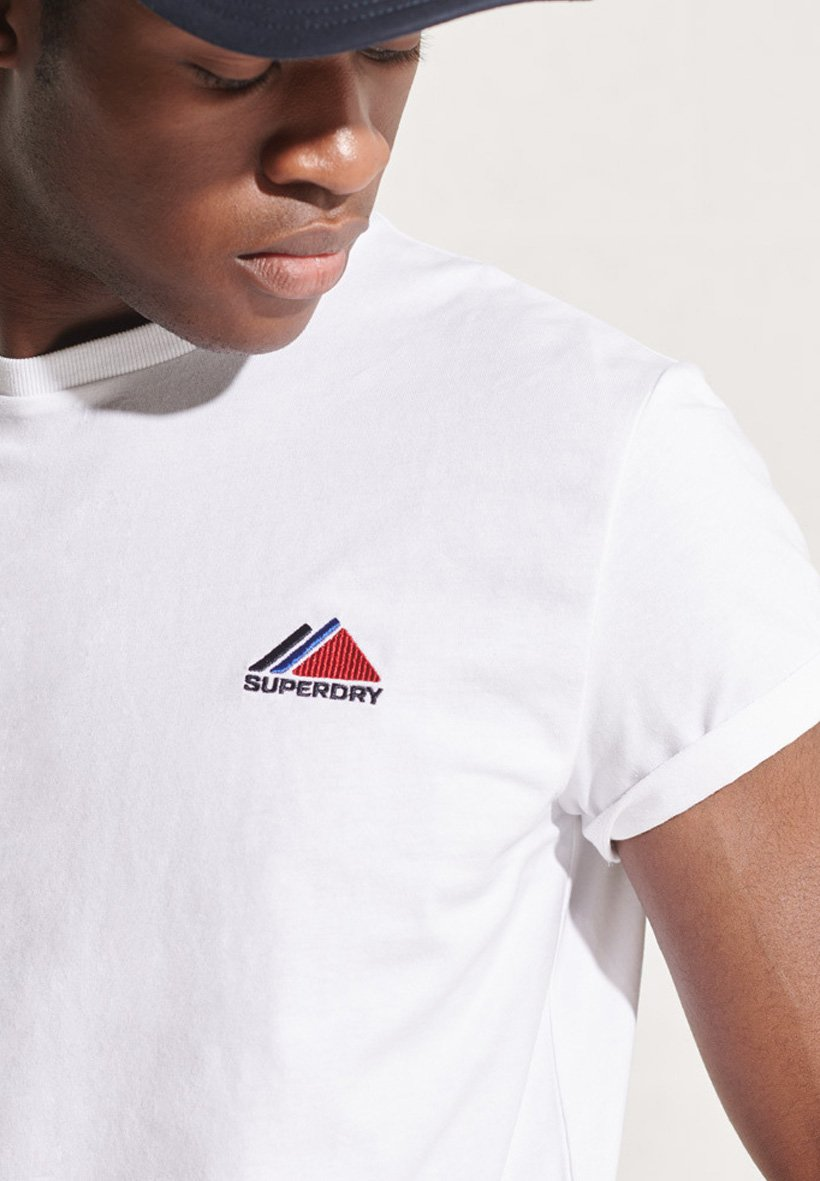 Homme MOUNTAIN SPORT EMBROIDERED - T-shirt imprimé