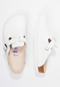 Birkenstock - BOSTON - Mules - white - 1