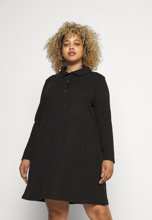 DRESS - Trikoomekko - black