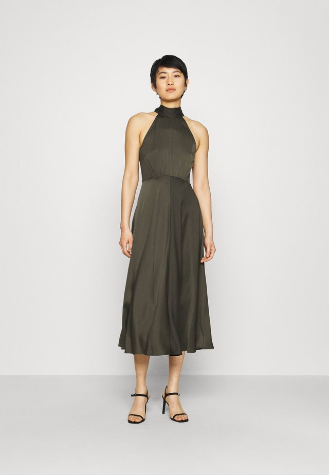 RHEO DRESS - Cocktail dress / Party dress - olive