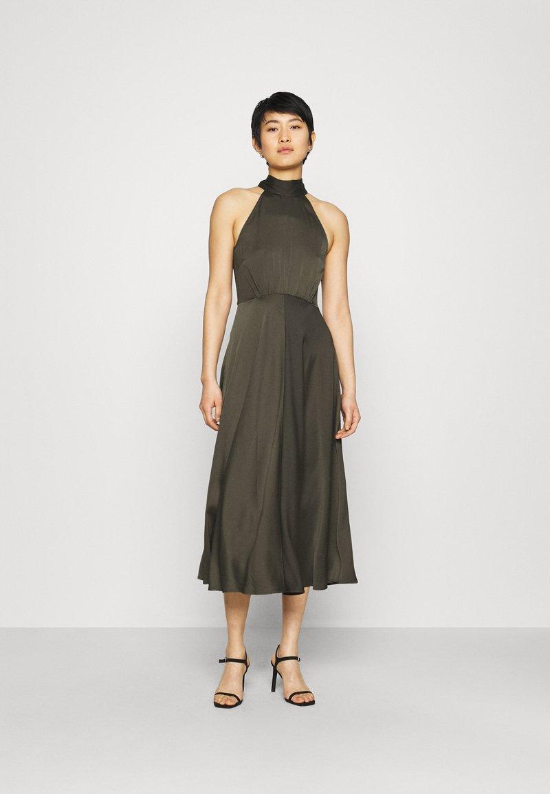 Samsøe Samsøe - RHEO DRESS - Koktejlové šaty/ šaty na párty - olive