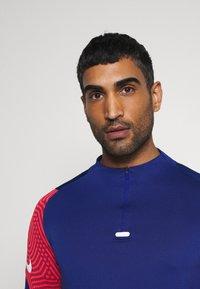 Nike Performance - DRY STRIKE DRILL - Funktionströja - deep royal blue/dark beetroot/white - 3