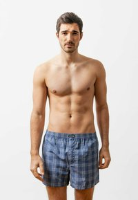 SNOCKS - WOVEN - 3 PACK - Boxer shorts - big check - 1