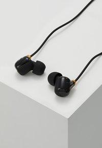 Happy Plugs - EAR PIECE II - Koptelefoon - black/gold-coloured - 2