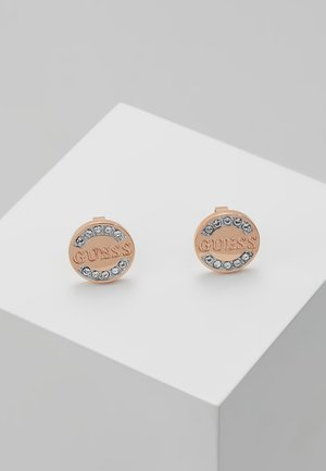 UPTOWN CHIC - Earrings - rose gold-coloured