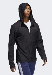 adidas Performance - OWN THE RUN HOODED WINDBREAKER - Training jacket - black - 2