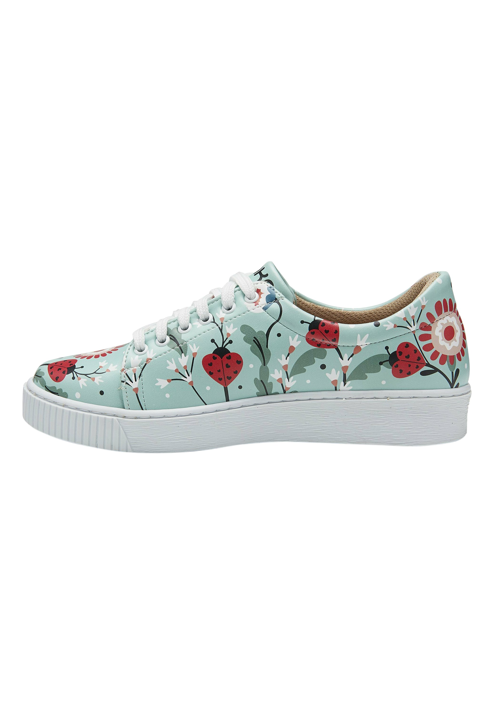 Donna LADYBUGS AND FLOWERS - Sneakers basse