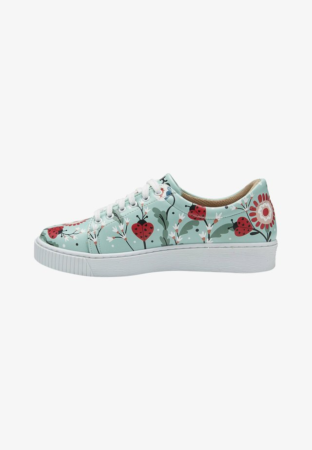 LADYBUGS AND FLOWERS - Sneakers laag - multicolor