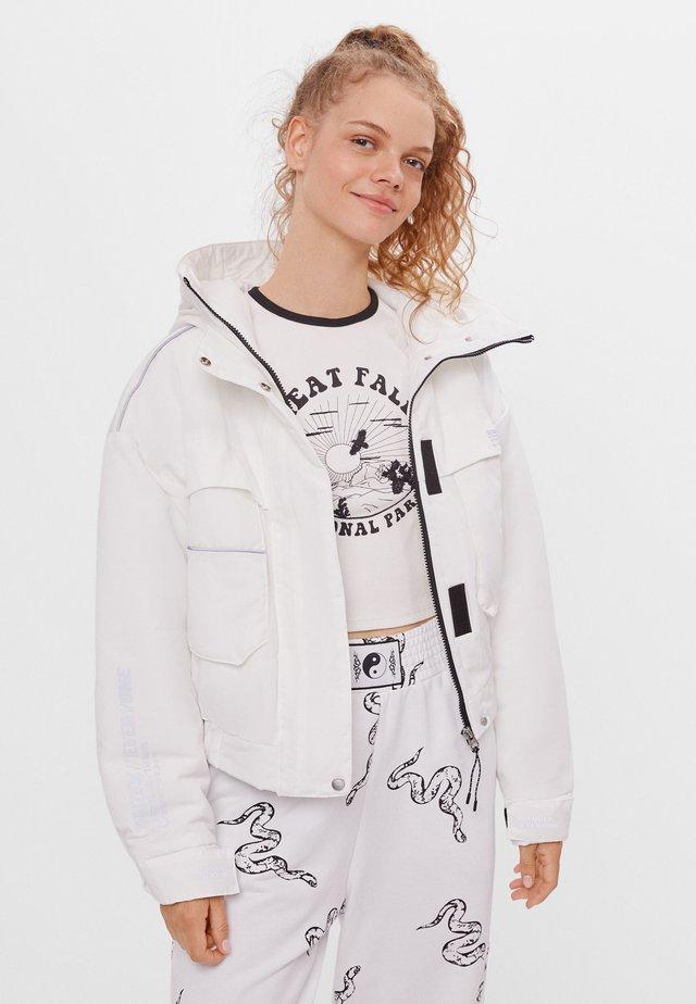 Outdoor jacket - stone