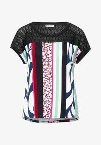 Street One - VIANN - Print T-shirt - blau - 3
