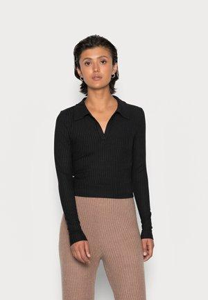 CLARA - Long sleeved top - black