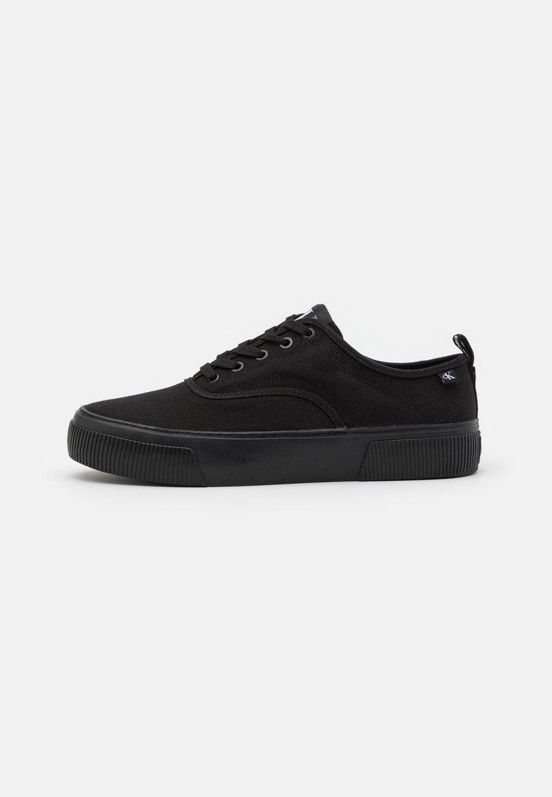 Calvin Klein Jeans - SKATE OXFORD - Trainers - full black