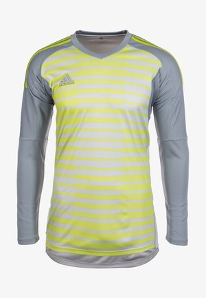 ADIPRO 18 - Keepers T-shirt - grau/neongelb
