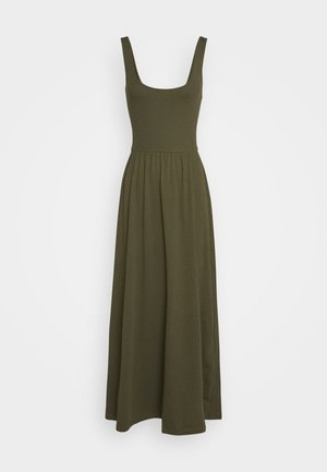 Robe en jersey - olive night