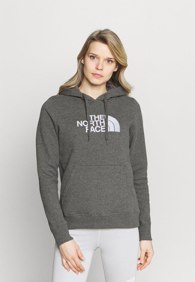 The North Face - DREW PEAK HOODIE - Sweatshirt - medium grey heather