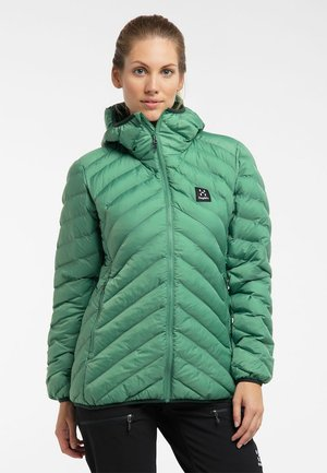 SÄRNA MIMIC HOOD - Winter jacket - trail green