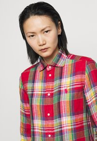 Polo Ralph Lauren - PLAID - Button-down blouse - red/pink - 3
