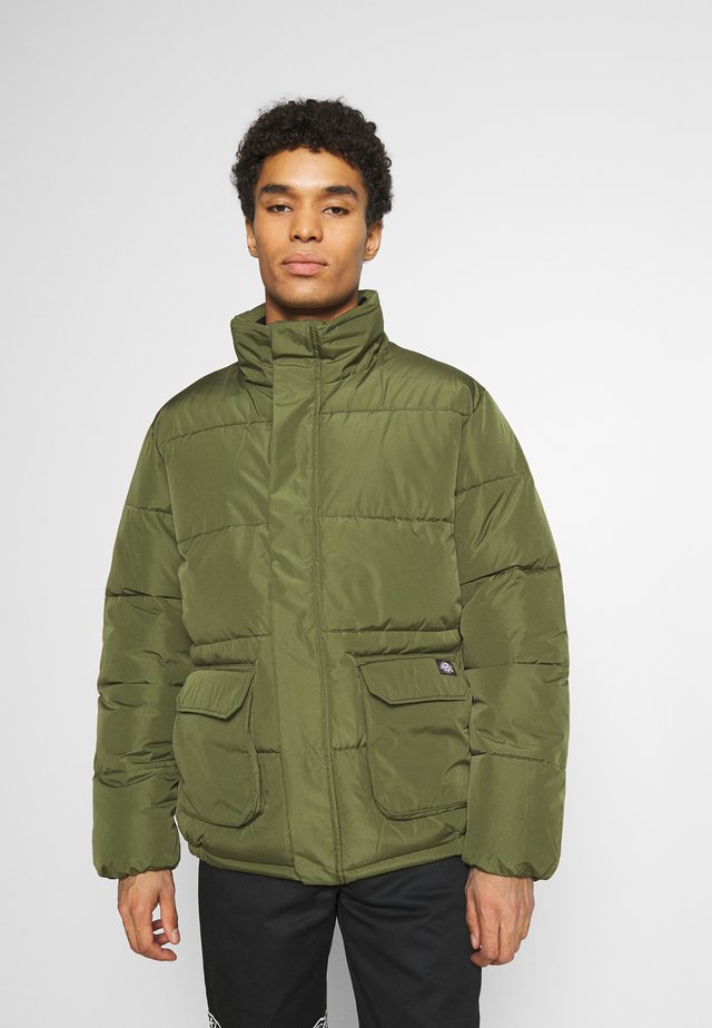 OLATON JACKET - Winter jacket - army green